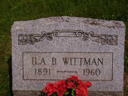 WITTMAN, ILA B. - Stark County, Ohio | ILA B. WITTMAN - Ohio Gravestone Photos