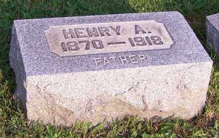 WITWER, HENRY A. - Stark County, Ohio | HENRY A. WITWER - Ohio Gravestone Photos