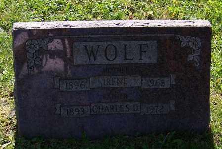 WOLF, IRENE - Stark County, Ohio | IRENE WOLF - Ohio Gravestone Photos