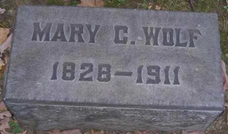 WOLF, MARY C. - Stark County, Ohio   MARY C. WOLF - Ohio Gravestone Photos
