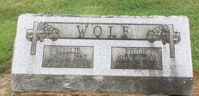 WOLF, NELLIE - Stark County, Ohio | NELLIE WOLF - Ohio Gravestone Photos