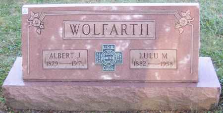 WOLFARTH, LULU M. - Stark County, Ohio | LULU M. WOLFARTH - Ohio Gravestone Photos