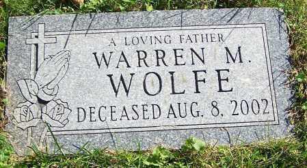 WOLFE, WARREN M. - Stark County, Ohio | WARREN M. WOLFE - Ohio Gravestone Photos