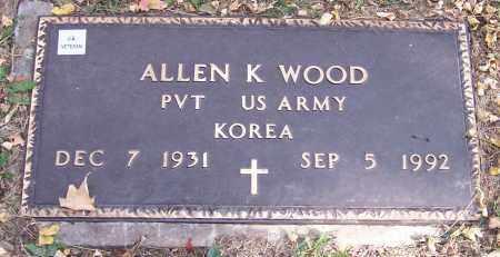 WOOD, ALLEN K. - Stark County, Ohio | ALLEN K. WOOD - Ohio Gravestone Photos