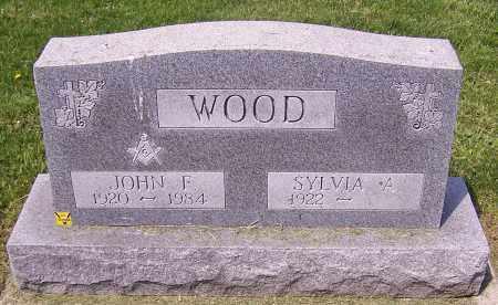 WOOD, JOHN F. - Stark County, Ohio   JOHN F. WOOD - Ohio Gravestone Photos