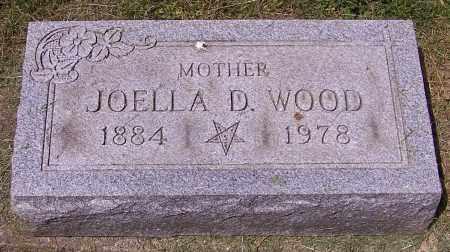 WOOD, JOELLA D. - Stark County, Ohio | JOELLA D. WOOD - Ohio Gravestone Photos