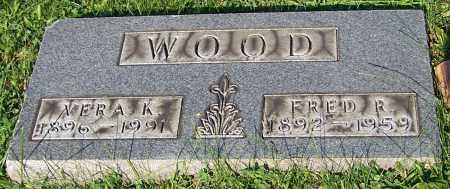 WOOD, VERA K. - Stark County, Ohio   VERA K. WOOD - Ohio Gravestone Photos