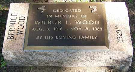 WOOD, WILBUR L. - Stark County, Ohio | WILBUR L. WOOD - Ohio Gravestone Photos