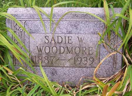 WOODMORE, SADIE W. - Stark County, Ohio   SADIE W. WOODMORE - Ohio Gravestone Photos