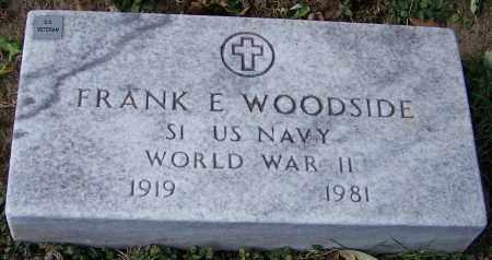 WOODSIDE, FRANK E. - Stark County, Ohio | FRANK E. WOODSIDE - Ohio Gravestone Photos