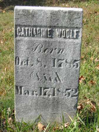 WOOLF, CATHARINE - Stark County, Ohio   CATHARINE WOOLF - Ohio Gravestone Photos