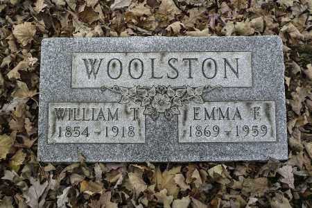 WOOLSTON, WILLIAM T - Stark County, Ohio | WILLIAM T WOOLSTON - Ohio Gravestone Photos
