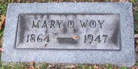 WOY, MARY O. - Stark County, Ohio | MARY O. WOY - Ohio Gravestone Photos