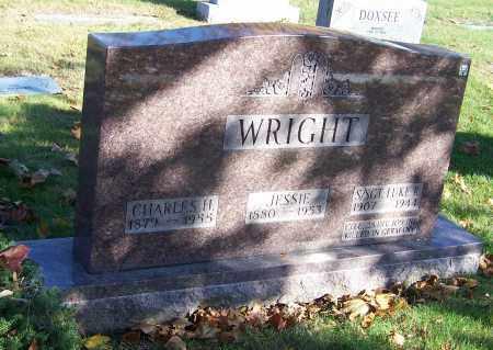 WRIGHT, JESSIE - Stark County, Ohio | JESSIE WRIGHT - Ohio Gravestone Photos