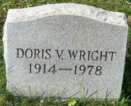 WRIGHT, DORIS V. - Stark County, Ohio | DORIS V. WRIGHT - Ohio Gravestone Photos