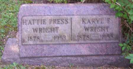 WRIGHT, KARYL E. - Stark County, Ohio | KARYL E. WRIGHT - Ohio Gravestone Photos
