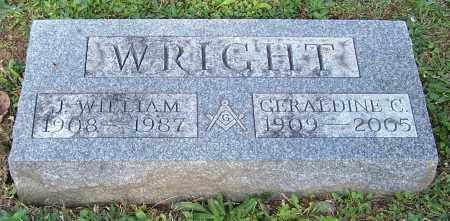 WRIGHT, J. WILLIAM - Stark County, Ohio | J. WILLIAM WRIGHT - Ohio Gravestone Photos