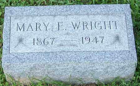 WRIGHT, MARY E. - Stark County, Ohio | MARY E. WRIGHT - Ohio Gravestone Photos