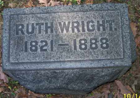WRIGHT, RUTH - Stark County, Ohio | RUTH WRIGHT - Ohio Gravestone Photos
