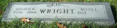 WRIGHT, BETTY L. - Stark County, Ohio | BETTY L. WRIGHT - Ohio Gravestone Photos