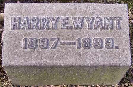 WYANT, HARRY E. - Stark County, Ohio | HARRY E. WYANT - Ohio Gravestone Photos