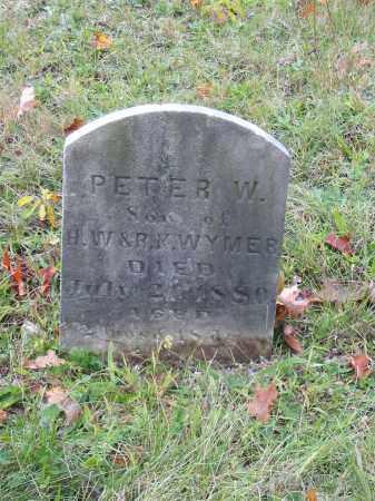 WYMER, PETER W - Stark County, Ohio   PETER W WYMER - Ohio Gravestone Photos