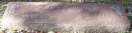 XANTHOS, PAUL - Stark County, Ohio | PAUL XANTHOS - Ohio Gravestone Photos