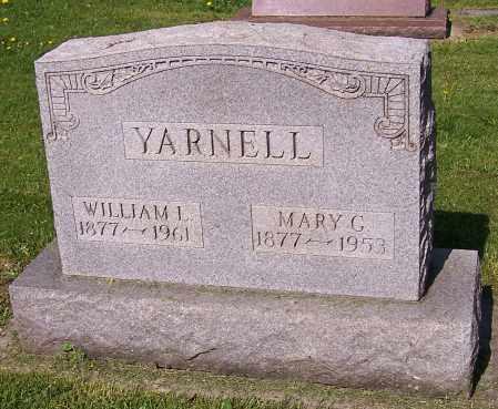 YARNELL, MARY G. - Stark County, Ohio | MARY G. YARNELL - Ohio Gravestone Photos