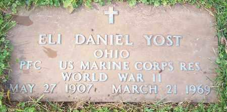 YOST, ELI DANIEL - Stark County, Ohio   ELI DANIEL YOST - Ohio Gravestone Photos