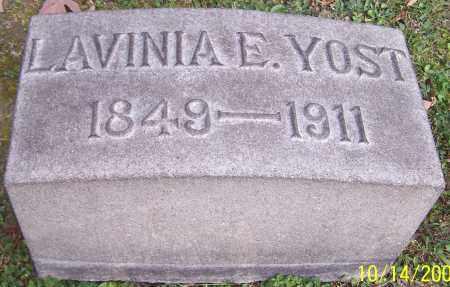 YOST, LAVINIA E. - Stark County, Ohio   LAVINIA E. YOST - Ohio Gravestone Photos