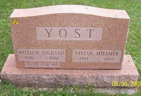 YOST, VIVIAN MIESMER - Stark County, Ohio | VIVIAN MIESMER YOST - Ohio Gravestone Photos