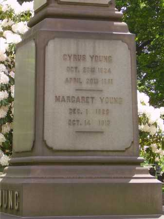 YOUNG, CYRUS - CLOSEVIEW - Stark County, Ohio | CYRUS - CLOSEVIEW YOUNG - Ohio Gravestone Photos