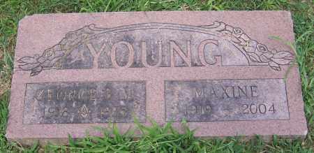 YOUNG, GEORGE B. (JR) - Stark County, Ohio | GEORGE B. (JR) YOUNG - Ohio Gravestone Photos