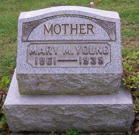 YOUNG, MARY M. - Stark County, Ohio   MARY M. YOUNG - Ohio Gravestone Photos