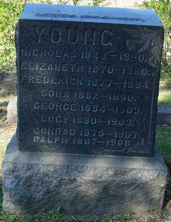 YOUNG, LUCY - Stark County, Ohio | LUCY YOUNG - Ohio Gravestone Photos