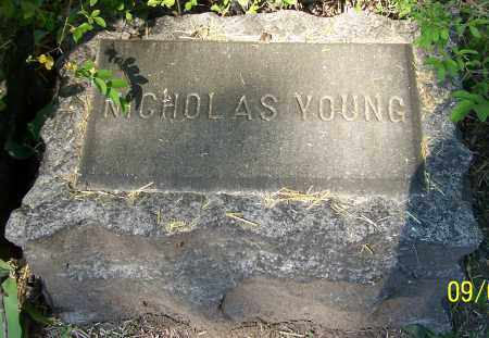 YOUNG, NICHOLAS - Stark County, Ohio   NICHOLAS YOUNG - Ohio Gravestone Photos