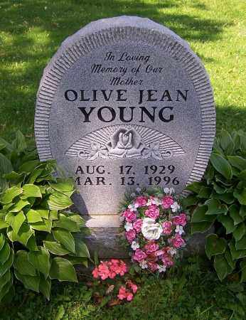 YOUNG, OLIVE JEAN - Stark County, Ohio | OLIVE JEAN YOUNG - Ohio Gravestone Photos