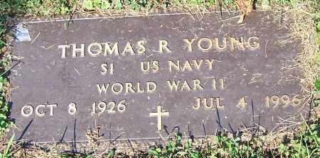 YOUNG, THOMAS R. - Stark County, Ohio | THOMAS R. YOUNG - Ohio Gravestone Photos