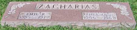 ZACHARIAS, EMIL R. - Stark County, Ohio | EMIL R. ZACHARIAS - Ohio Gravestone Photos