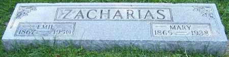ZACHARIAS, MARY - Stark County, Ohio | MARY ZACHARIAS - Ohio Gravestone Photos