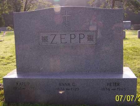 ZEPP, ANNA C. - Stark County, Ohio | ANNA C. ZEPP - Ohio Gravestone Photos