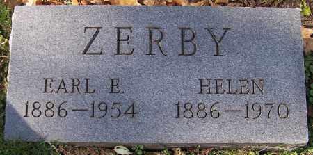 ZERBY, HELEN - Stark County, Ohio | HELEN ZERBY - Ohio Gravestone Photos