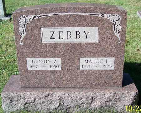 ZERBY, JUDSON Z. - Stark County, Ohio | JUDSON Z. ZERBY - Ohio Gravestone Photos