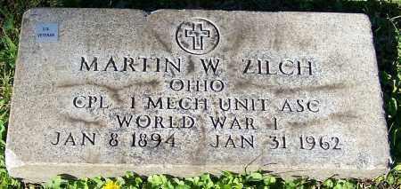 ZILCH, MARTIN W. - Stark County, Ohio   MARTIN W. ZILCH - Ohio Gravestone Photos