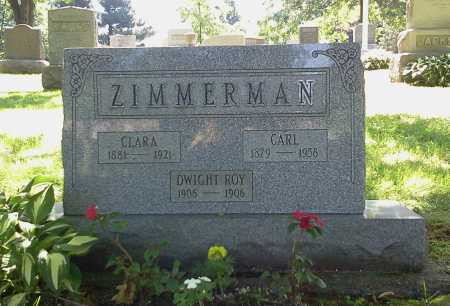 ZIMMERMAN, CLARA - Stark County, Ohio | CLARA ZIMMERMAN - Ohio Gravestone Photos