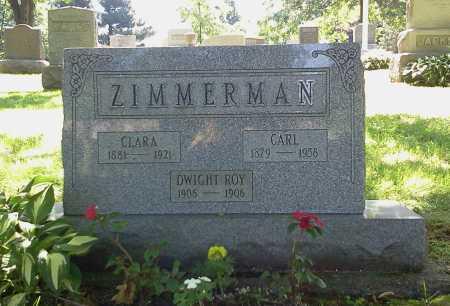 ZIMMERMAN, CARL - Stark County, Ohio | CARL ZIMMERMAN - Ohio Gravestone Photos