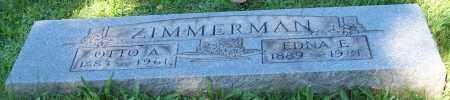 ZIMMERMAN, OTTO A. - Stark County, Ohio | OTTO A. ZIMMERMAN - Ohio Gravestone Photos