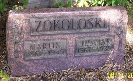 RICHERT ZOKOLOSKI, JUSTINE - Stark County, Ohio | JUSTINE RICHERT ZOKOLOSKI - Ohio Gravestone Photos