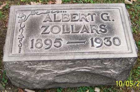 ZOLLARS, ALBERT G. - Stark County, Ohio   ALBERT G. ZOLLARS - Ohio Gravestone Photos