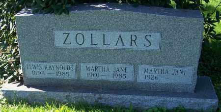 ZOLLARS, LEWIS RAYNOLDS - Stark County, Ohio | LEWIS RAYNOLDS ZOLLARS - Ohio Gravestone Photos
